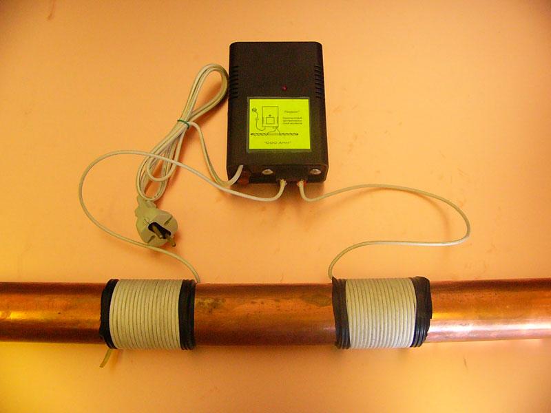 Электромагнитный умягчитель для воды своими руками 54